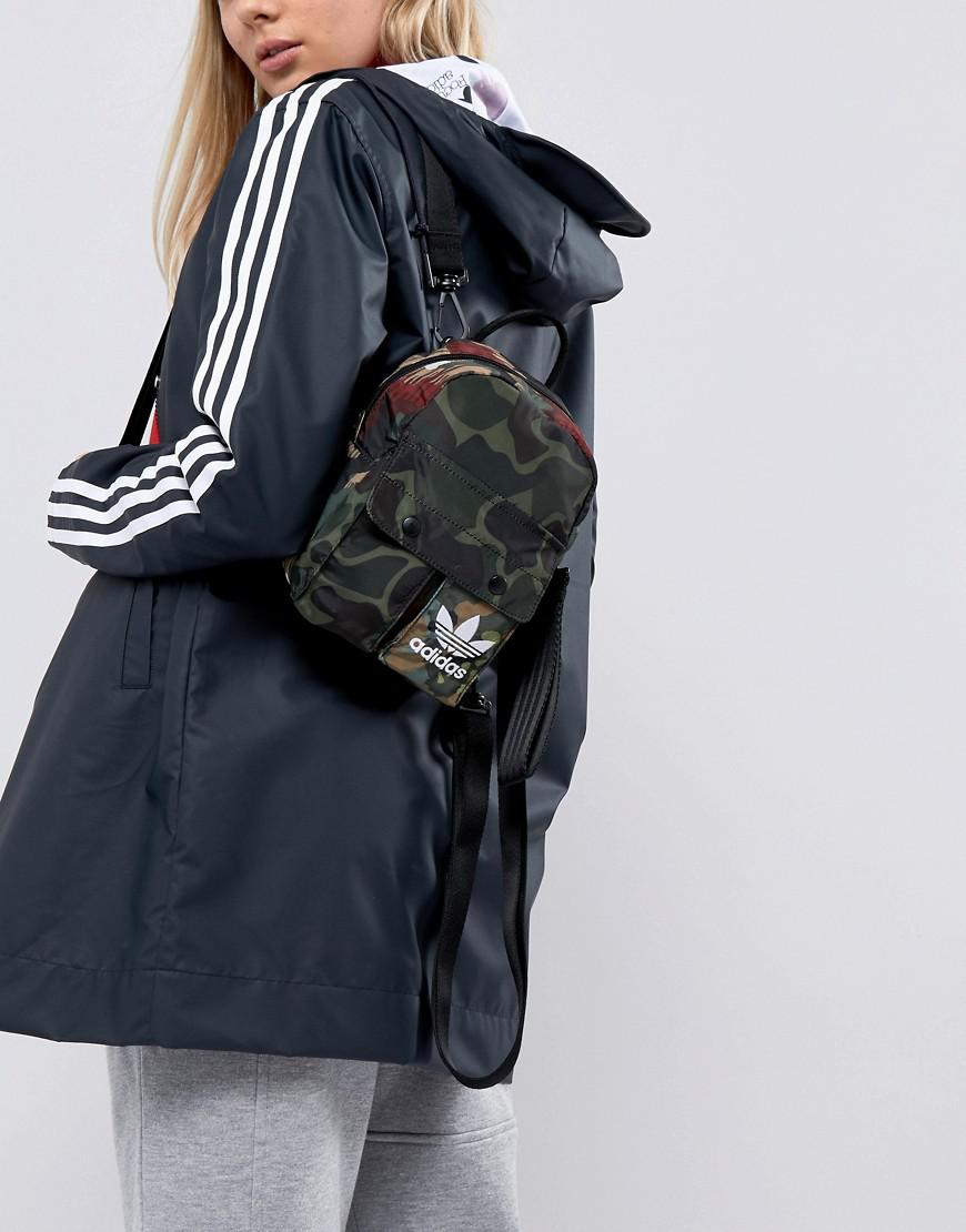 d3e6d47e846da Lyst - adidas Originals X Pharrell Williams Hu Camo Mini Backpack