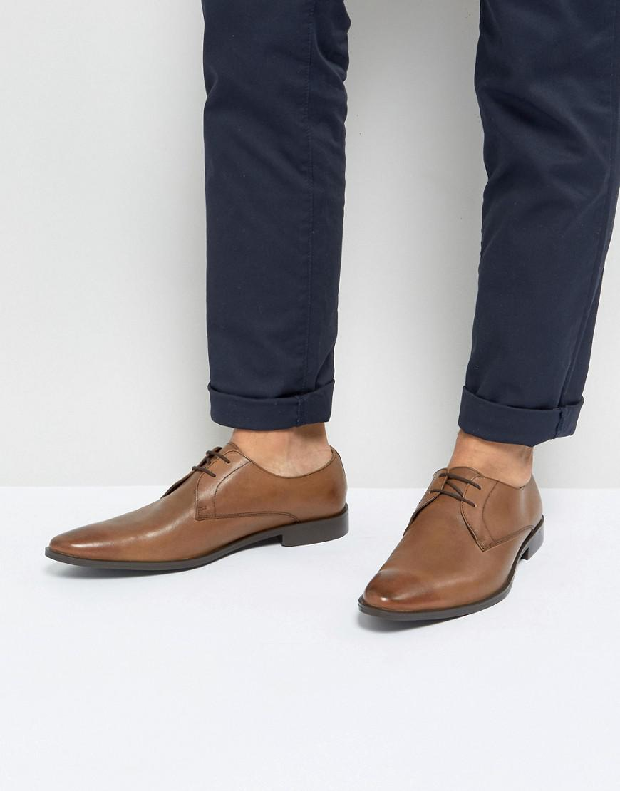 Frank Wright Wide Fit Brogues In Leather 5JBz83jK