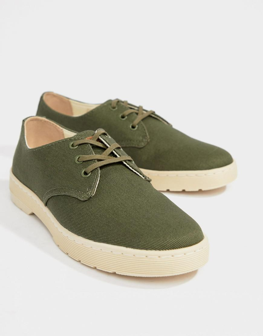 Dr Martens Delray Surteint Chaussures 3 Oeil En Noir - Noir 87om9F