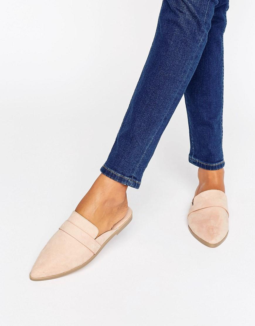 Women Mules Shoes Textile