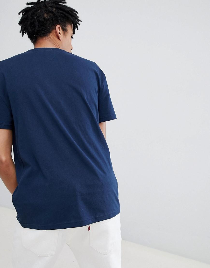 606c852e Lyst - Tommy Hilfiger Capsule Split Logo T-shirt In Navy in Blue for Men