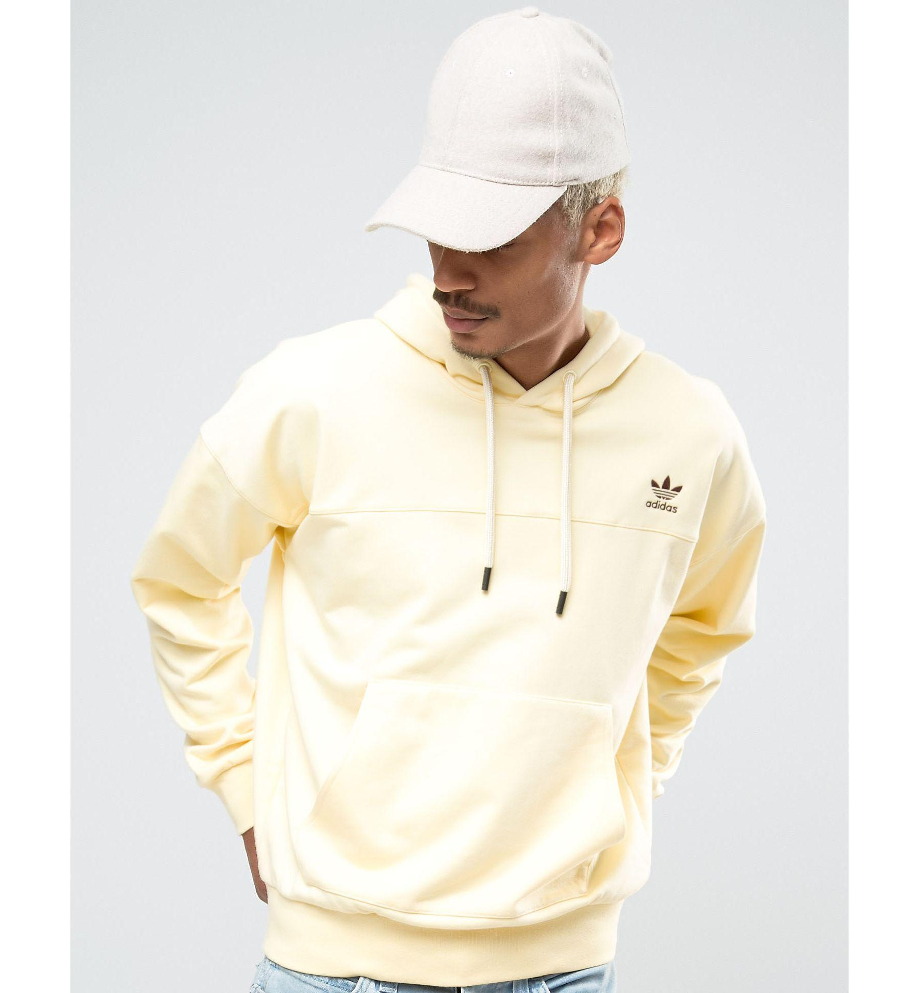 fbe5aea6a adidas Originals Fallen Future Oversized Hoodie In Yellow Br1801 in ...