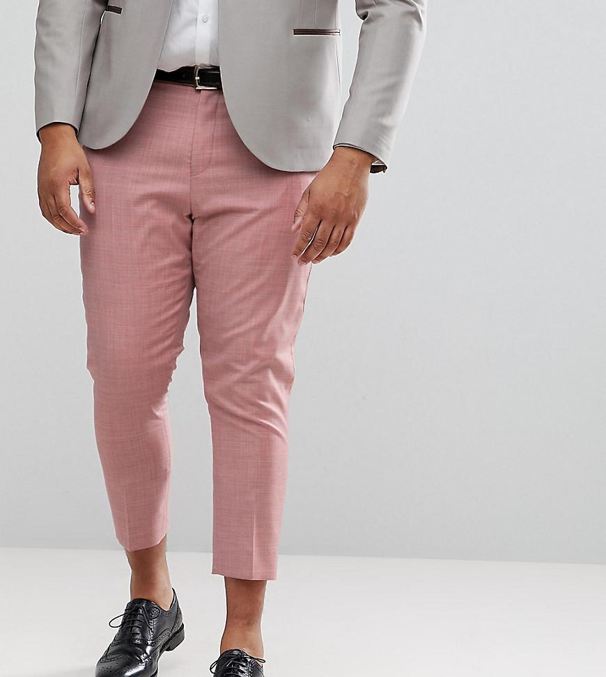 Pantalon De Costume Skinny Mariage Design En Rose 100% Laine - Asos Rose CAHD5aqmQ