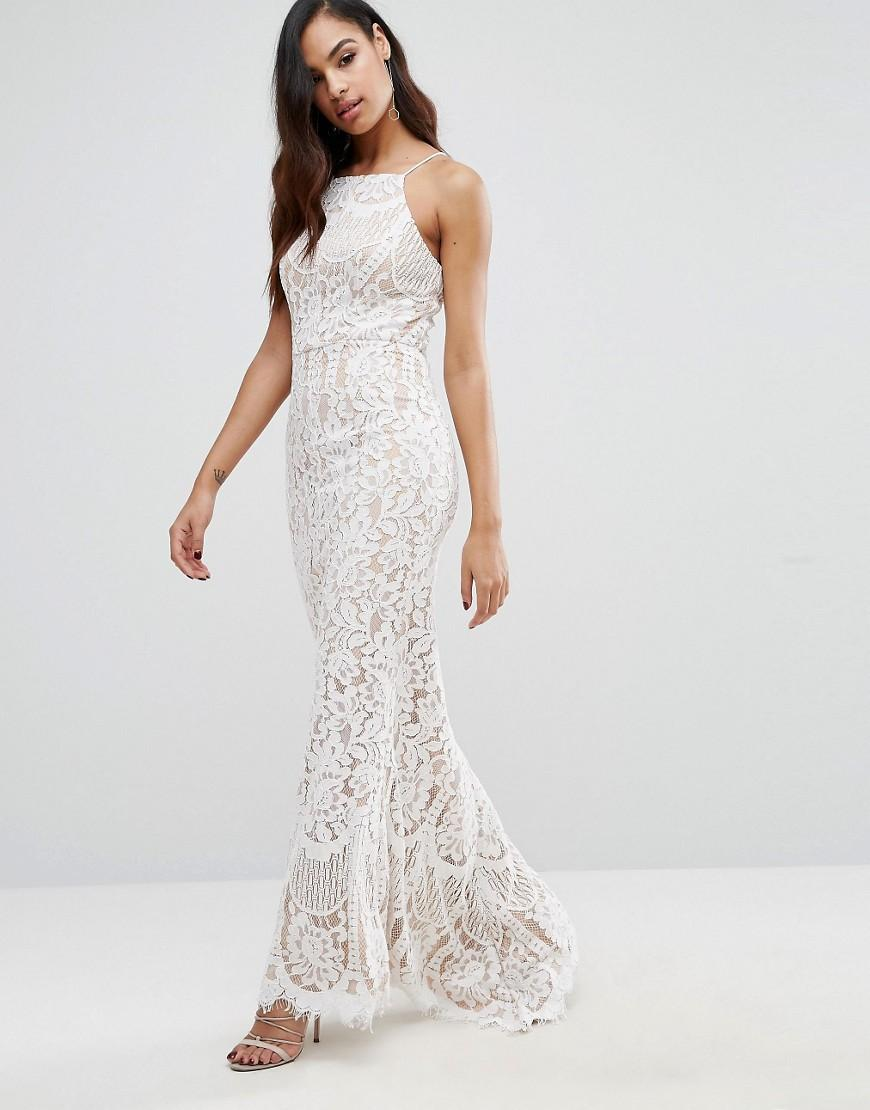 83489e21fc03 Jarlo Ariel Allover Lace Maxi Dress - Lyst