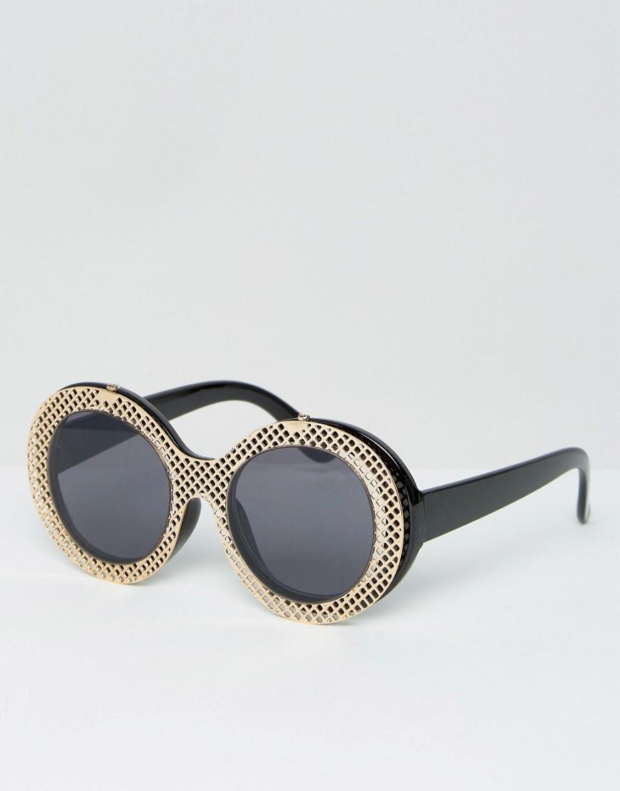 Blck Geeky Glasses Asos