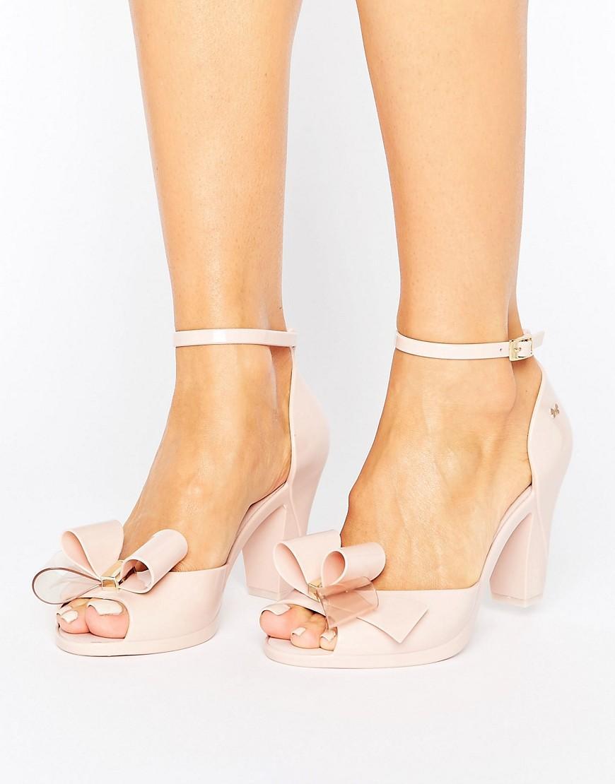 Natural Peep Toe Shoes