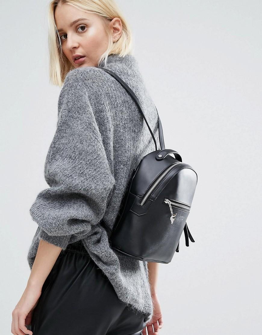 Lyst - Fiorelli Anouk Mini Black Backpack in Black