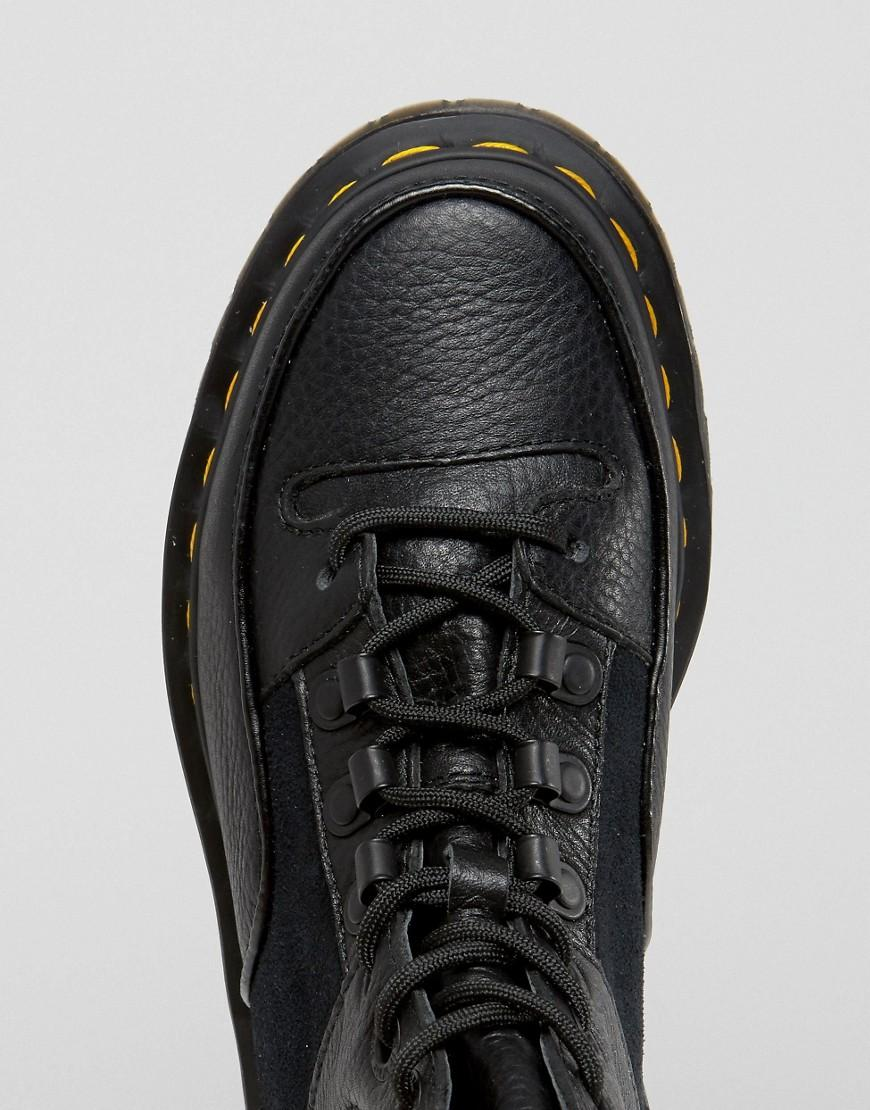 a62c8336b41 Dr. Martens Zuma Hiker Ankle Boots in Black - Lyst