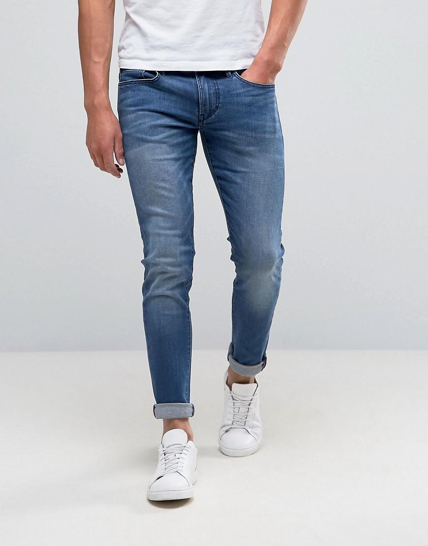 71285758530 Lyst - BOSS Orange By Hugo Boss 72 Skinny Jeans Used Wash in Blue ...