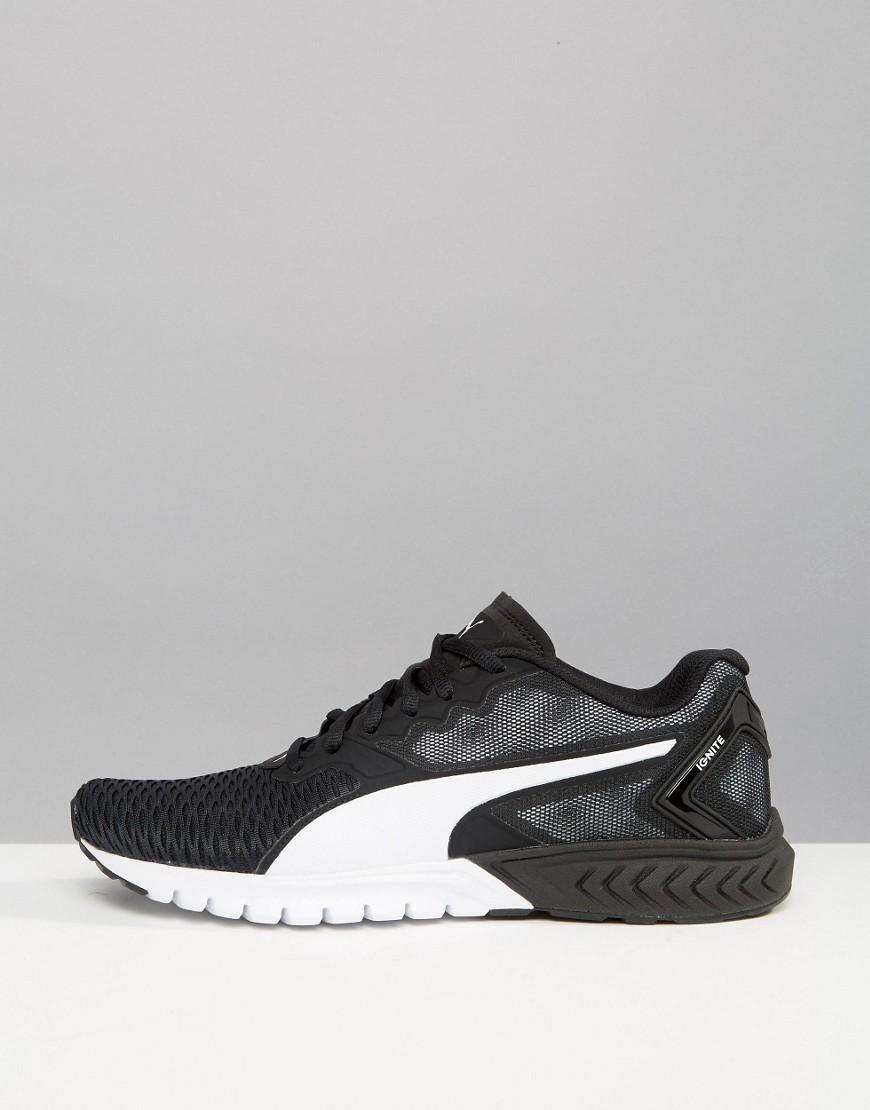 66ea14a2eb32 Lyst - PUMA Ignite Dual Sneakers In Black 18909403 in Black for Men