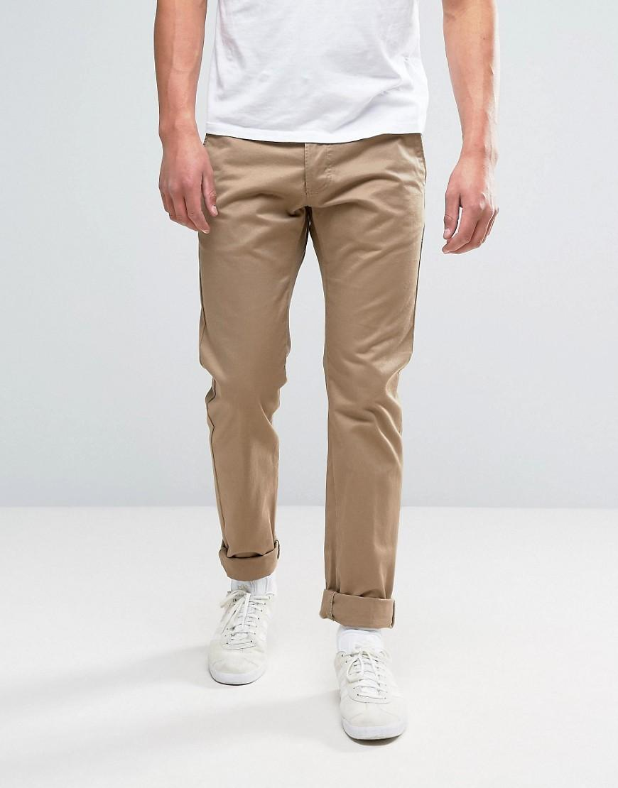 Edwin 55 chino stone beige in natural for men lyst for Case a buon mercato in mammoth ca