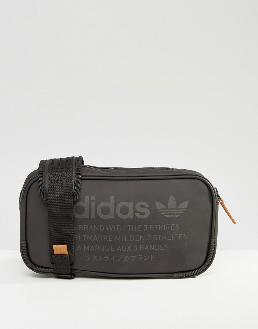 Lyst - adidas Originals Nmd Cross Body Bag Bk6852 in Black for Men 8daa85c81b68e