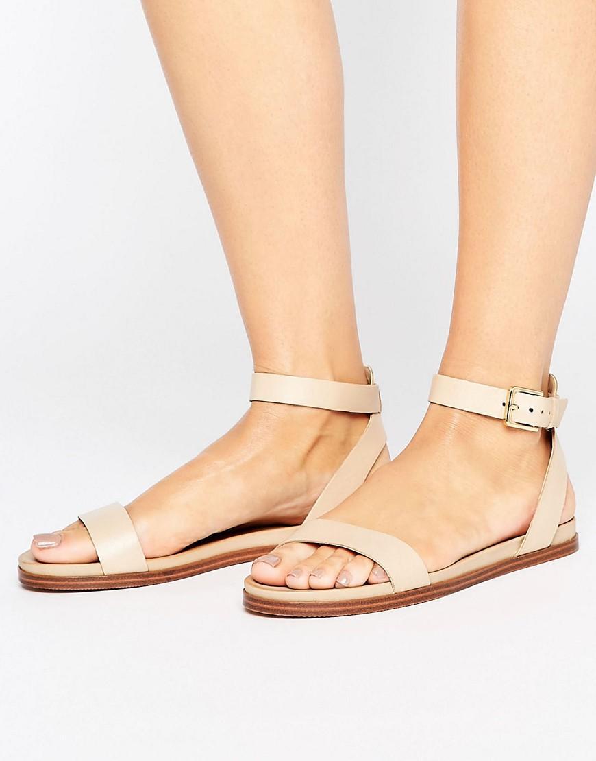 100% Real Cheap ALDO Gwenna Strap Flat Sandals womens Nude ALDO Womens Sandals