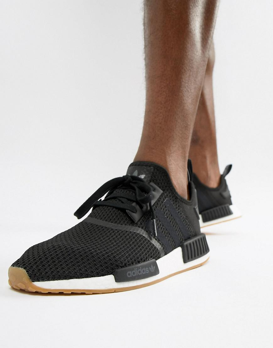 hot sale online 3cb85 4eeea Originals Lyst Adidas In Black Nmd Trainers Pk r1 B42200 BodWxeQrCE