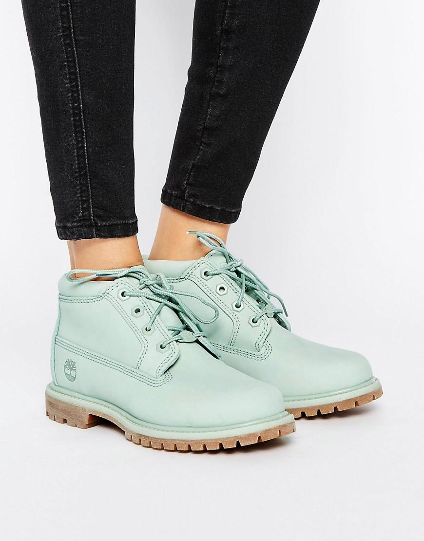 Lyst Timberland Nellie Chukka Double Mint Green Lace Up