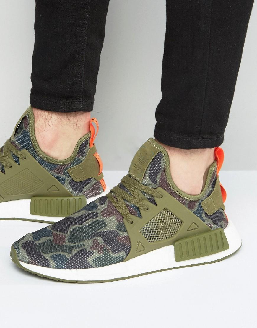 newest 8ae41 c3982 Adidas Originals Nmdxr1 Trainers In Green Ba7232 in Green fo