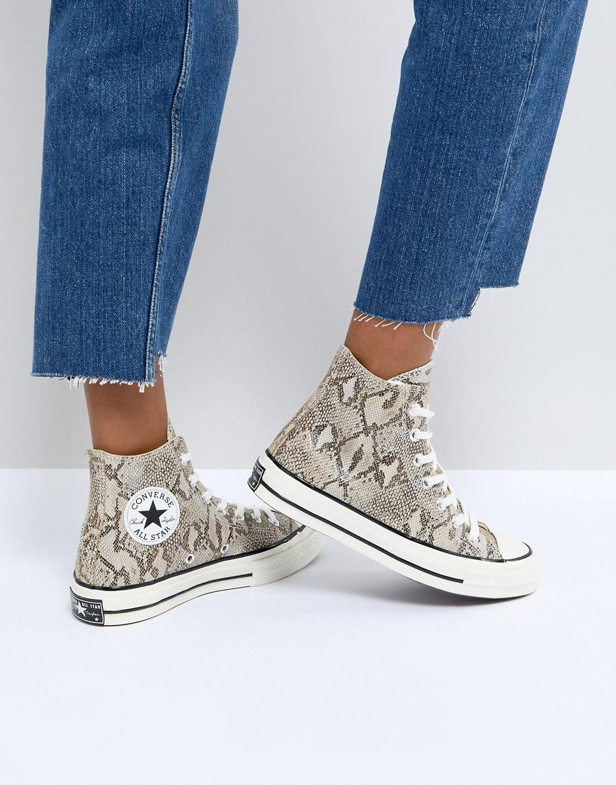 Clearance Store Sale Online Converse Chuck Taylor All Star '70 Trainers In Snake Print Cheap Professional Pre Order Cheap Price Huge Surprise cJu8m5Zzng