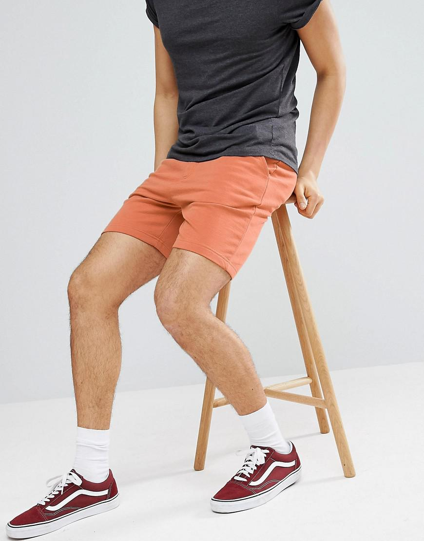 How Much Outlet Best Prices Basic Peached Jersey Shorts - Brown Another Influence Release Dates Sale Online hyOW7r0