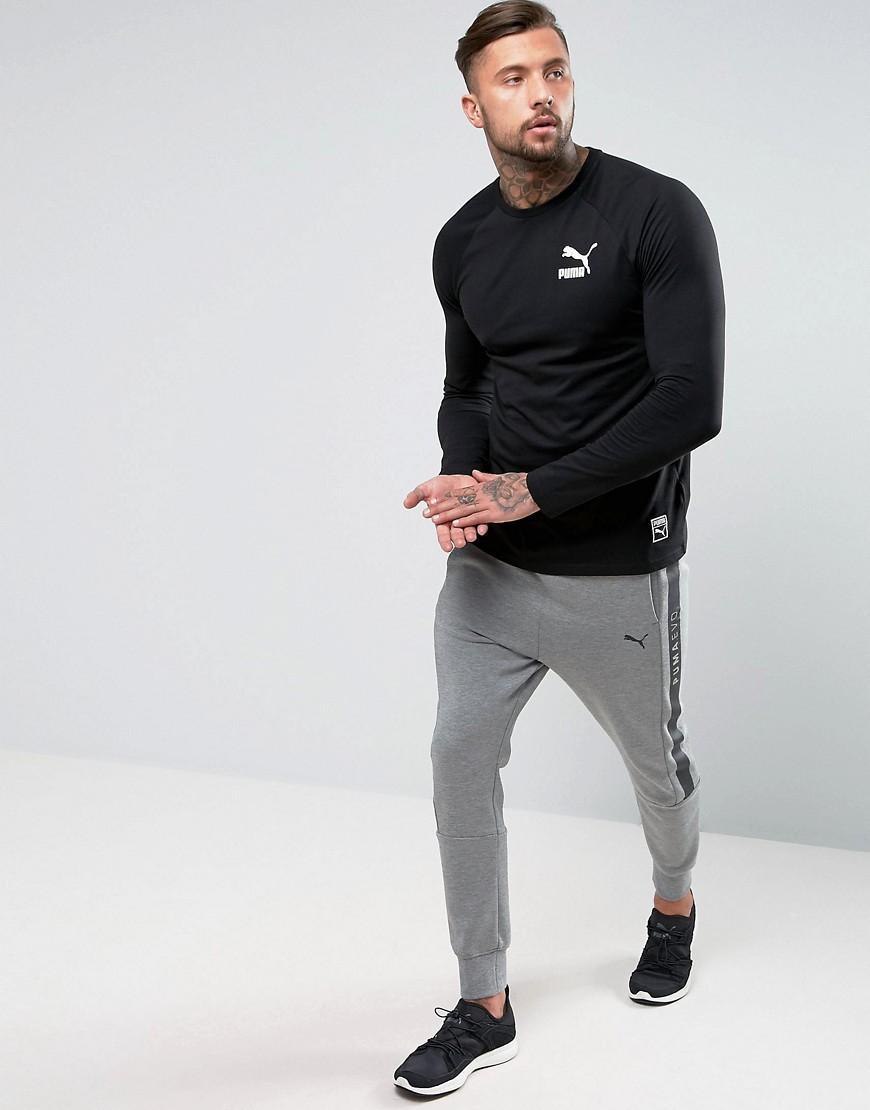 0139c363c70a Lyst - PUMA Evo Core Joggers In Gray 572444 04 in Gray for Men