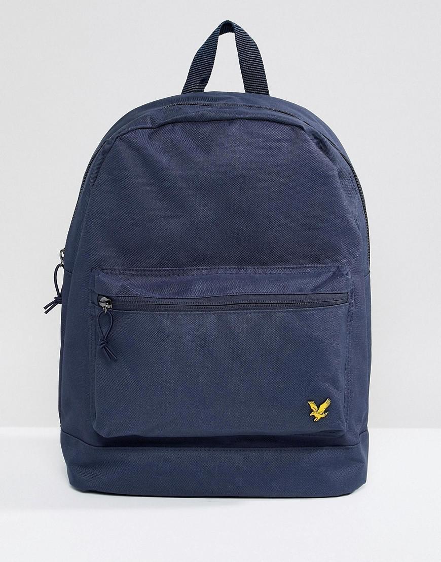 457066a3230 Lyst - Lyle & Scott Logo Backpack In Navy in Blue for Men