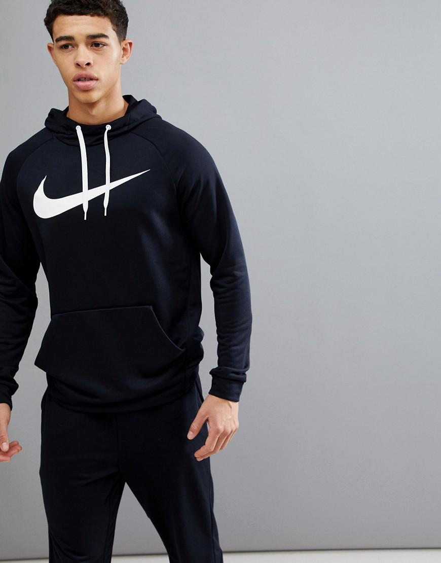 35797e34d26193 Nike Dry Swoosh Hoodie In Black 885818-010 in Black for Men - Lyst