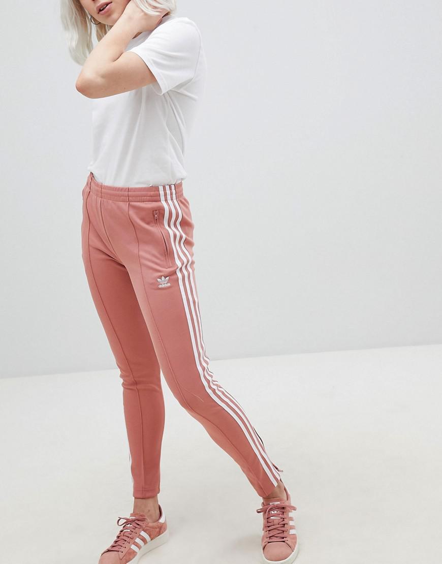 Lyst Rose Cigarette Originals Adidas En Pantalon Coloris HxrqHYCw