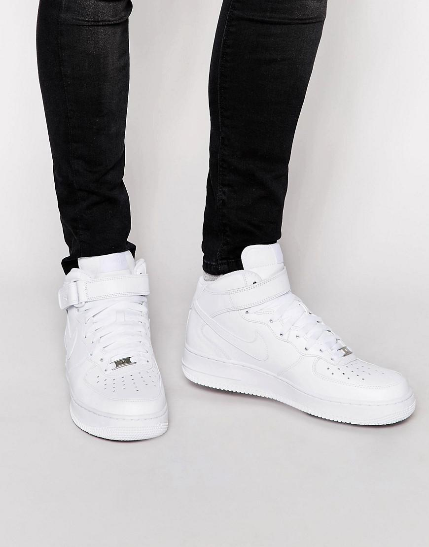 huge discount 7543e 51493 Nike. Men s Air Force 1 Mid  07 Trainers ...