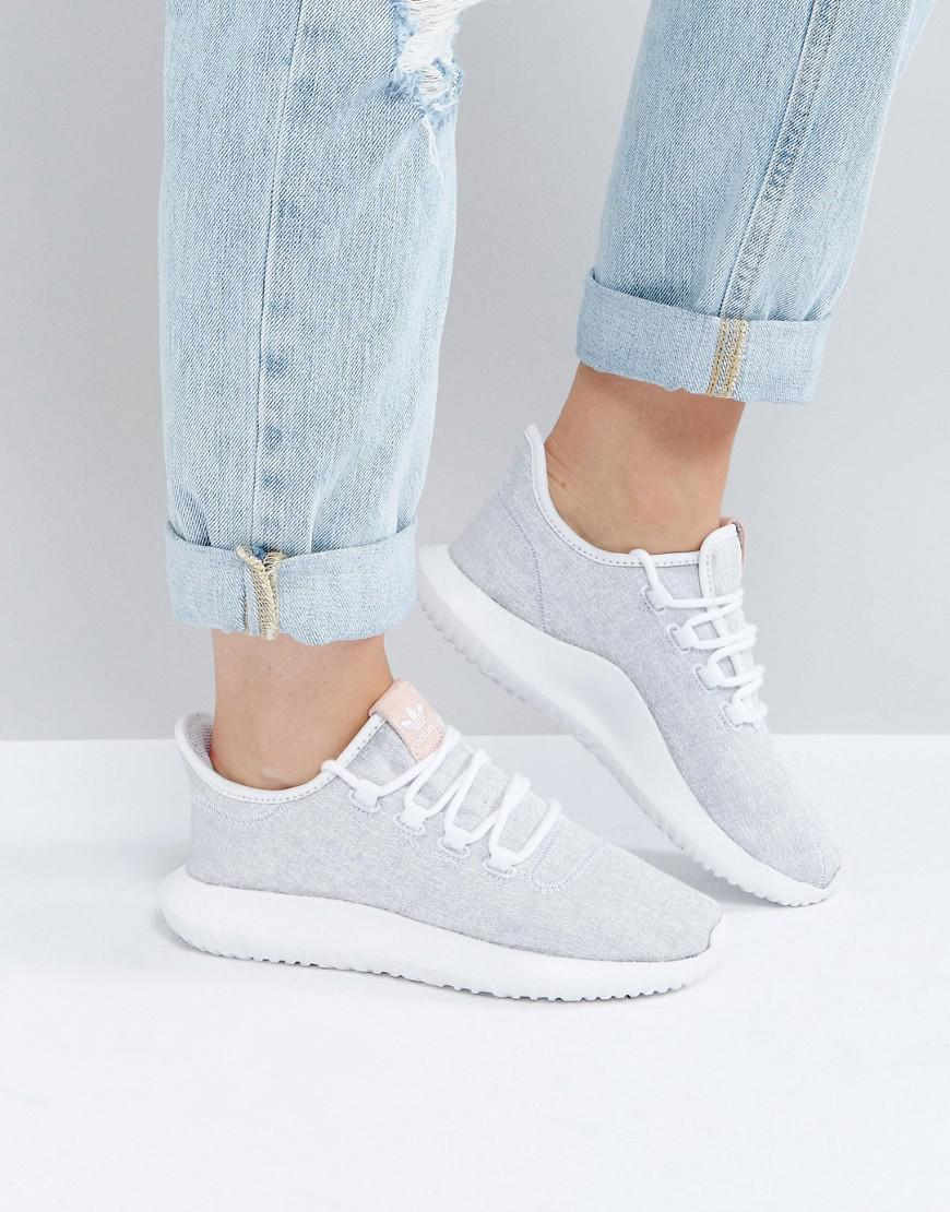 newest 81482 d7ee5 adidas-originals-White-Tubular-Shadow-Sneaker-In-White-With-Pink -Branding.jpeg