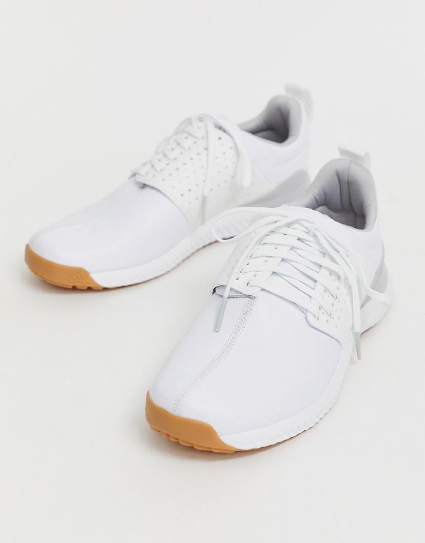 Adicross Originals Bounce Cuero Zapatillas blancas en adidas Y6gb7fvy