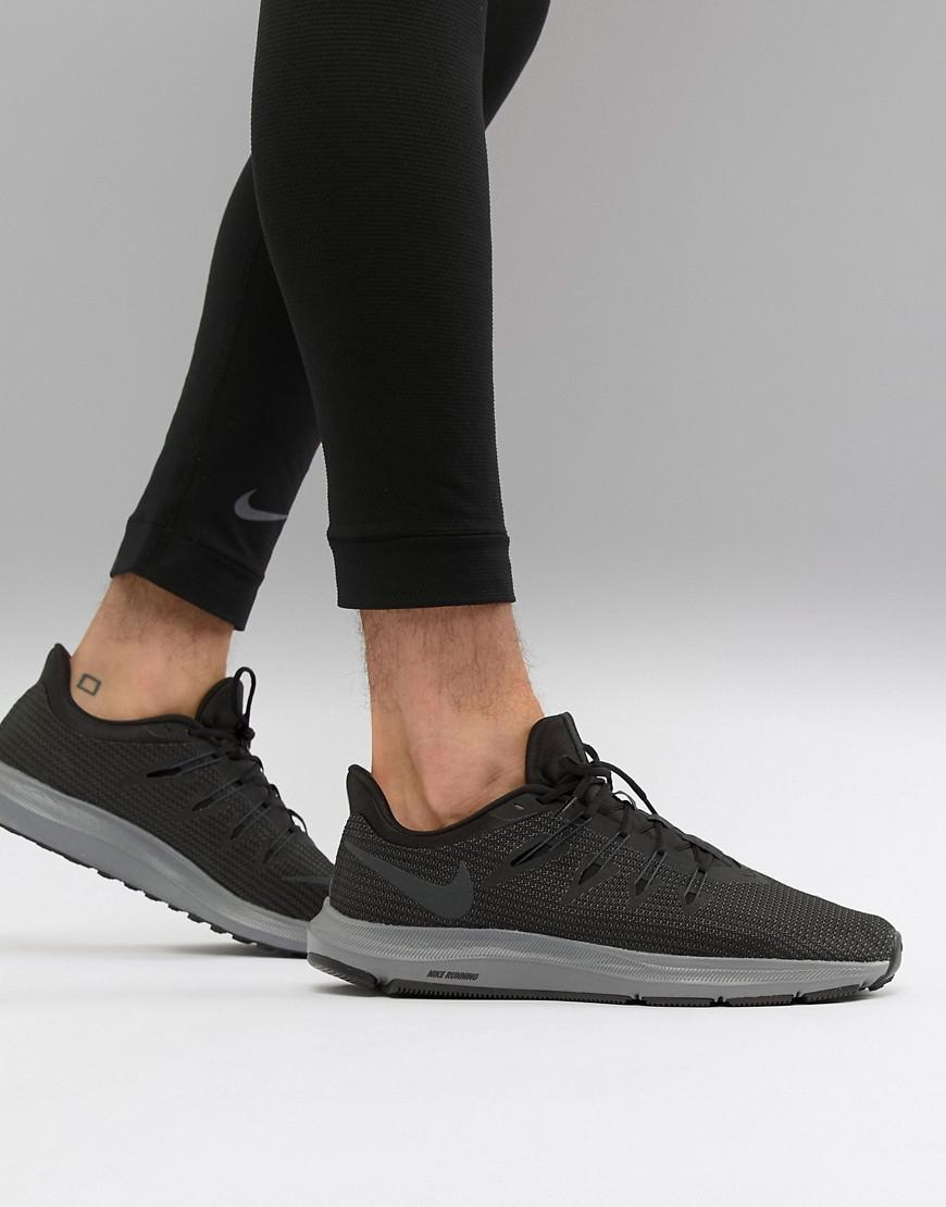82ca388757d23 Nike Quest Trainers In Black Aa7403-002 in Black for Men - Lyst