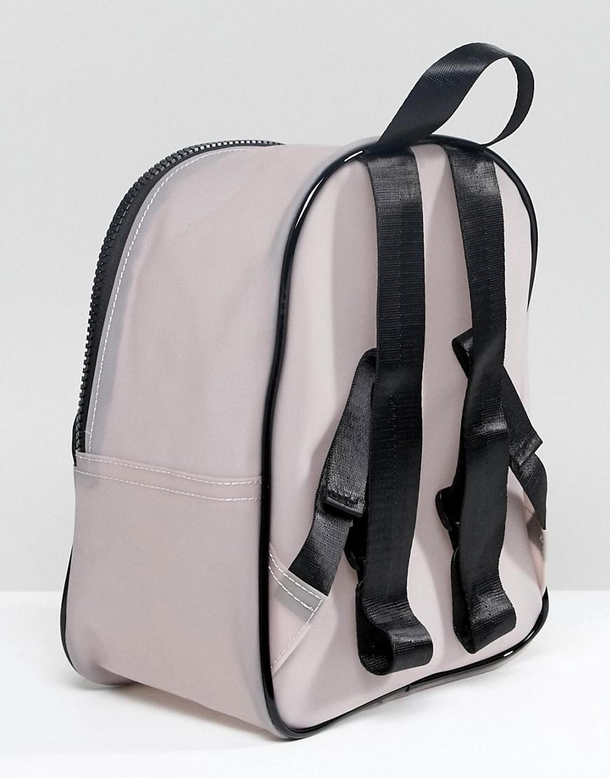Black Striped Plastic Backpack - Black Yoki Fashion Really For Sale Cheap Sale Visit Discount Geniue Stockist Good Selling Pictures Cheap Price jIzipN