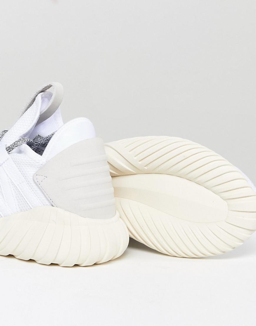 buy popular 0b3e7 fde0f Lyst - adidas Originals Tubular Dawn Trainers In White in Wh