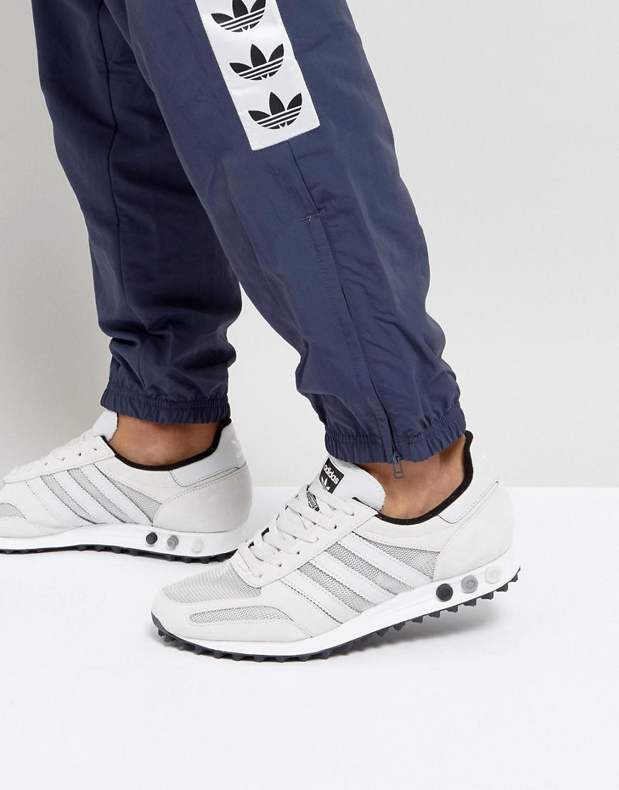 adidas originali la ginnastica in grigio by9327 in grigio per gli uomini lyst