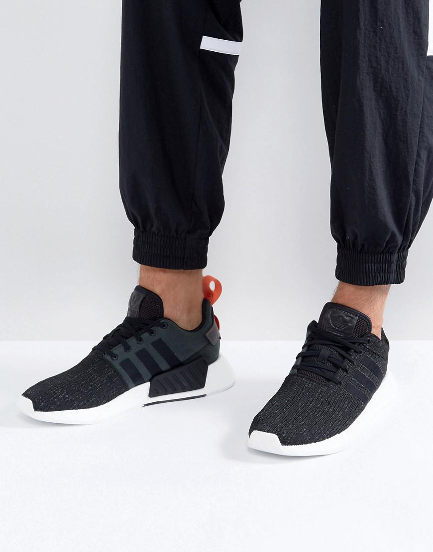 Lyst - adidas Originals Nmd R2 Trainers In Black Cg3384 in Black for Men d20158336