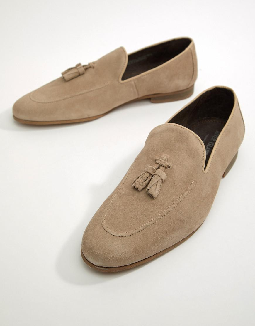 For River Loafer Island With Sand Suede Lyst Natural Tassel Men In vm8NOnwy0