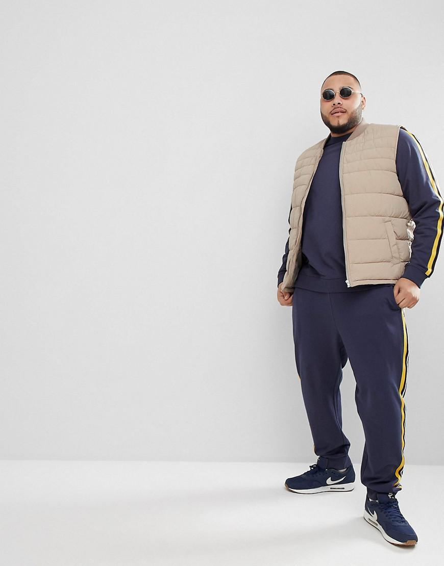 1b4d8a33ed651c Lyst - Pantalon de jogging avec rayure style survêtement Only   Sons ...