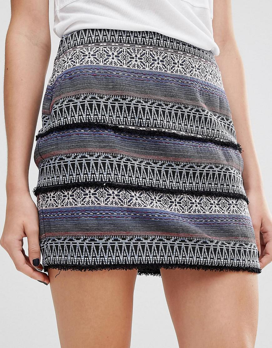 Discount Manchester Great Sale Hina Skirt in Blue Greylin Sale Eastbay Cheap Countdown Package Buy Cheap Outlet Locations VTqrG