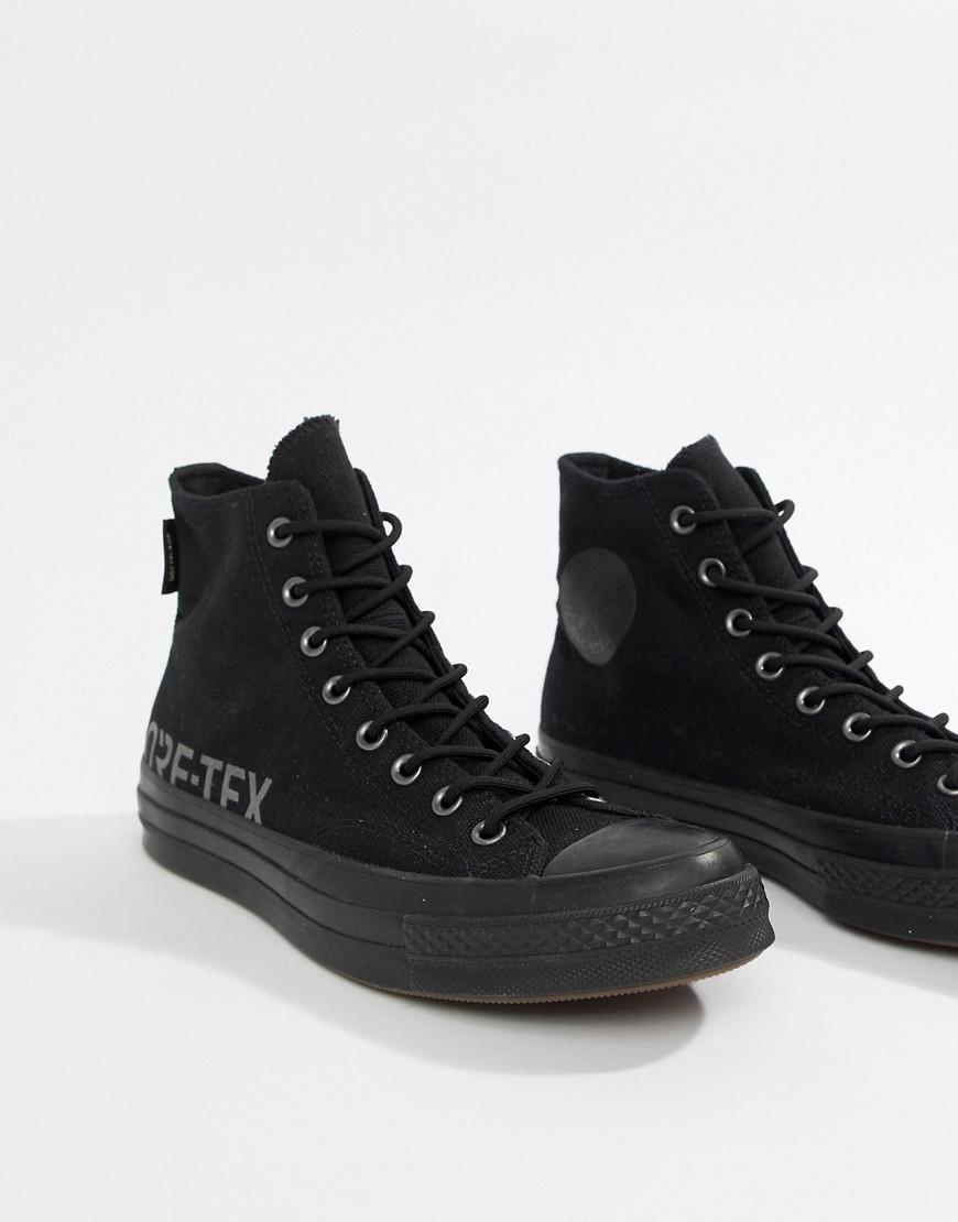 b533b47ea30 Lyst - Converse Chuck Taylor All Star  70 Waterproof Hi Sneakers In Black  162350c in Black for Men