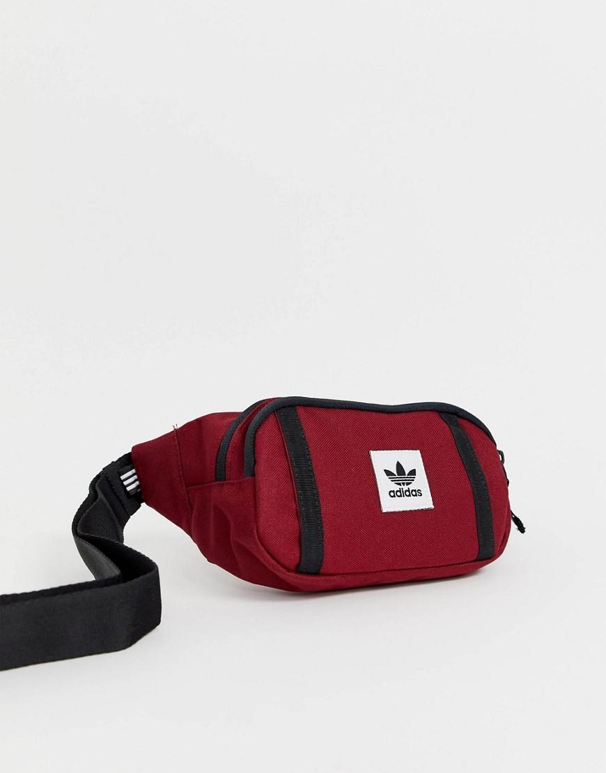0179b58f2d Sac banane de qualit suprieure adidas Originals pour homme en coloris Rouge  - Lyst