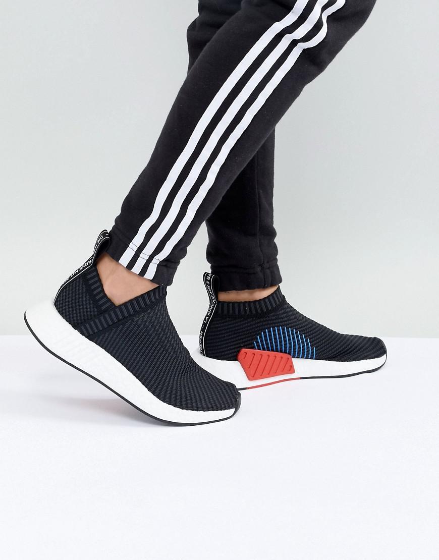 e11303d0f60e7e adidas Originals Nmd Cs2 Trainers In Black in Black - Lyst