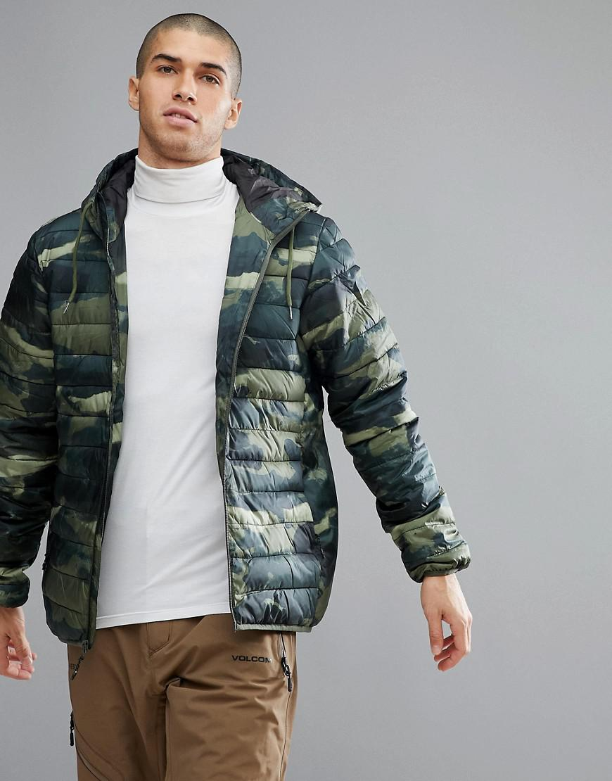 a7308a8befd3f Quiksilver Quicksilver Quilted Everyday Scaly Jacket In Camo in ...