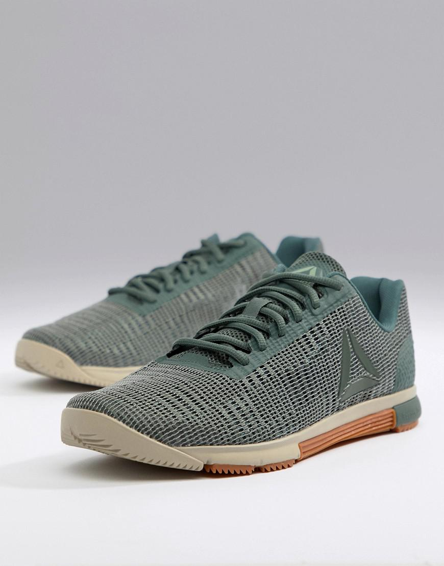886a11e1085 Reebok Crossfit(r) Nano 8.0 (tin Grey shark lemon Zest ash Grey white) Men s  Cross Training Shoes in Green for Men - Save 24% - Lyst