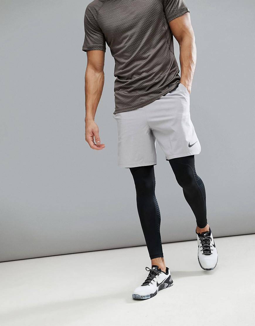 c5fd79d93d34 Nike - Gray Flex Vent Max 2.0 Shorts In Grey 886371-027 for Men -. View  fullscreen
