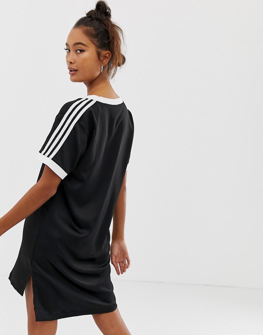 3ab869c15dc adidas Originals Fashion League V Neck T-shirt in Black - Lyst
