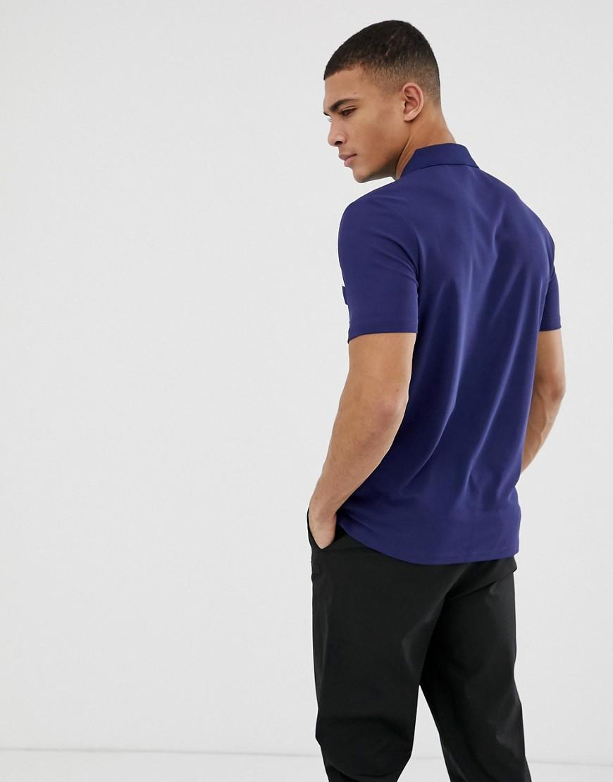 cb0eeec34c22 Calvin Klein Velocity Polo In Blue in Blue for Men - Lyst