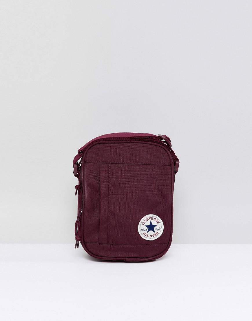 c173e583a75a Converse Chuck Taylor Patch Crossbody Bag In Burgundy in Red for Men - Lyst