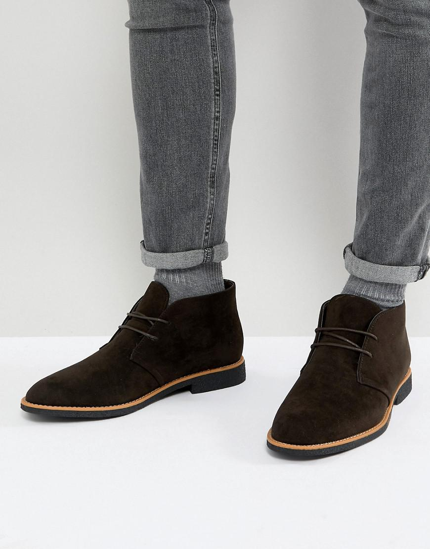 New Look Faux Suede Desert Boots In KmKUYMF