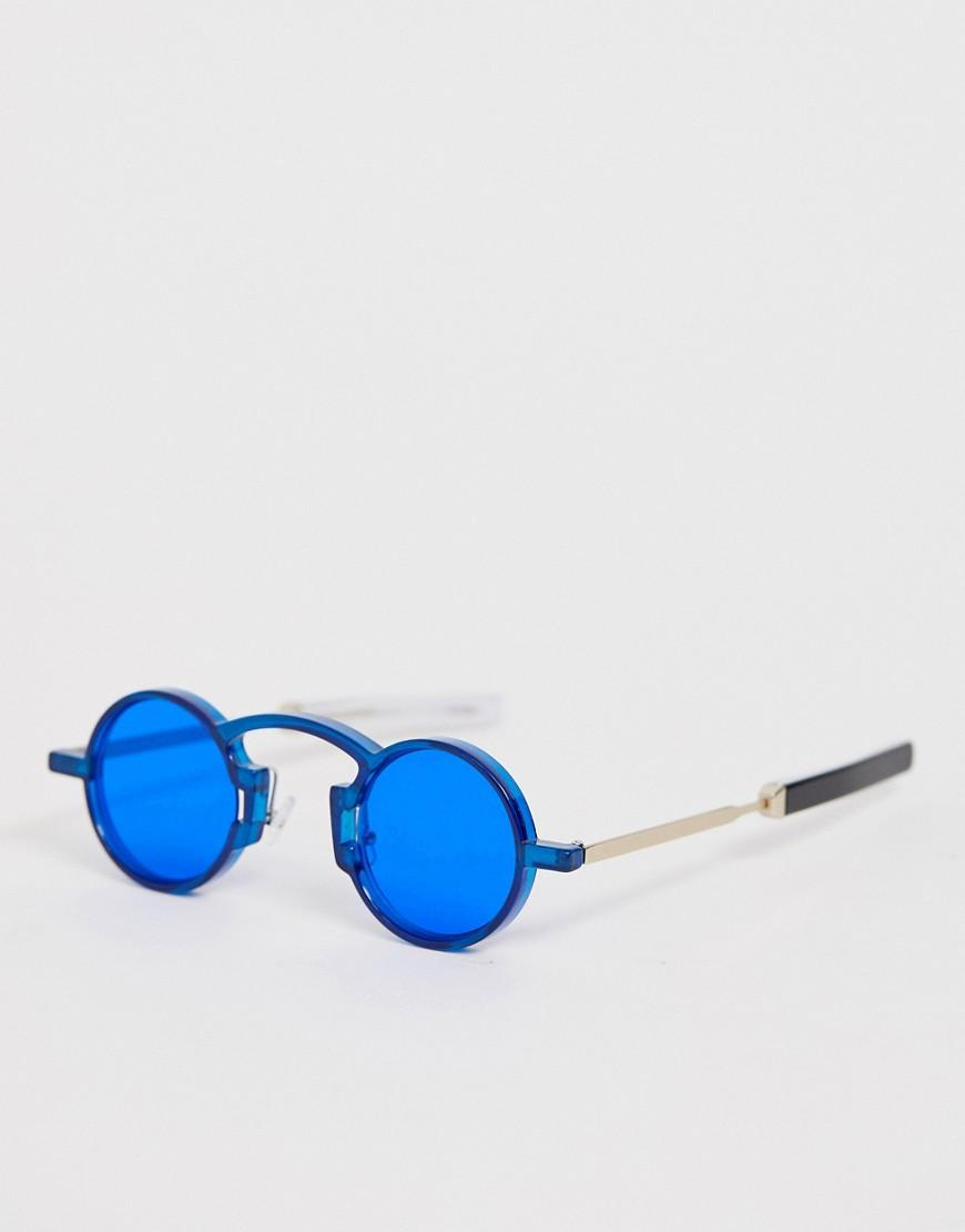 b16bafacbbbe Spitfire Euph Round Sunglasses In Blue in Blue for Men - Lyst