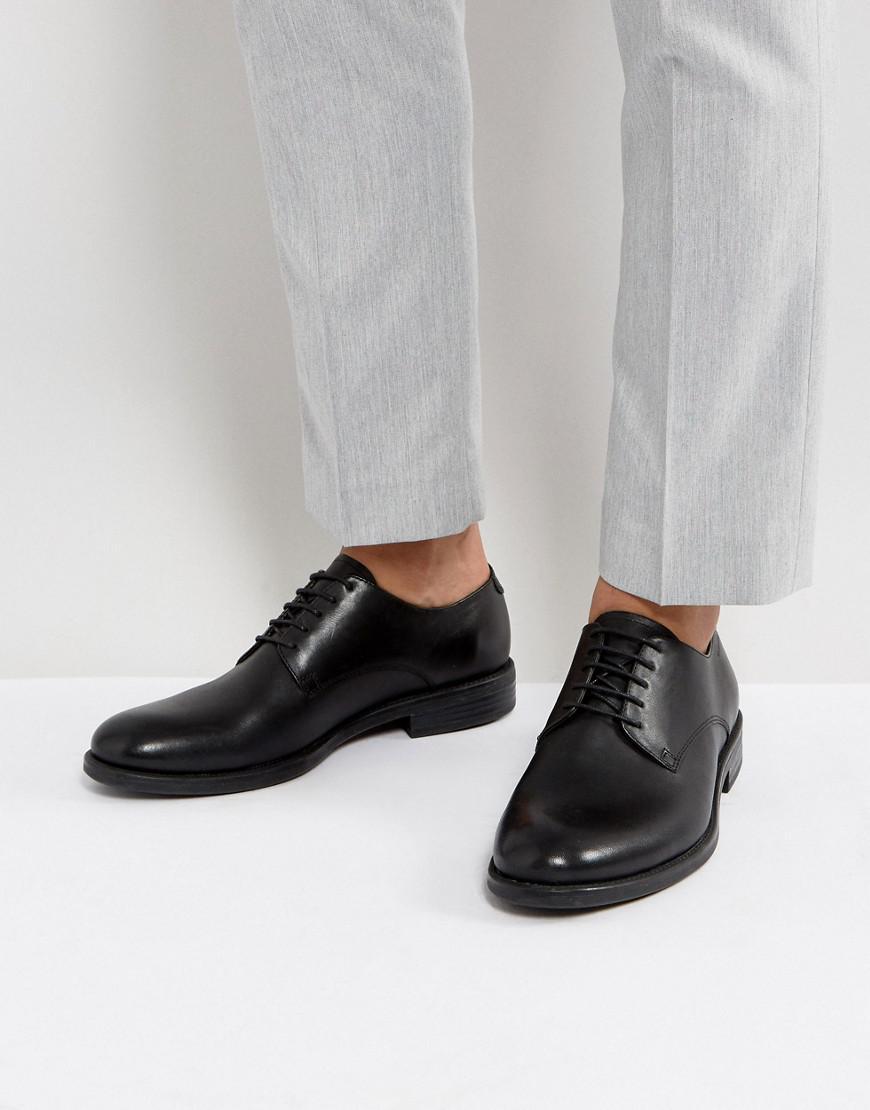 Salvatore Suede Derby Shoes - Black Vagabond xhBjHR