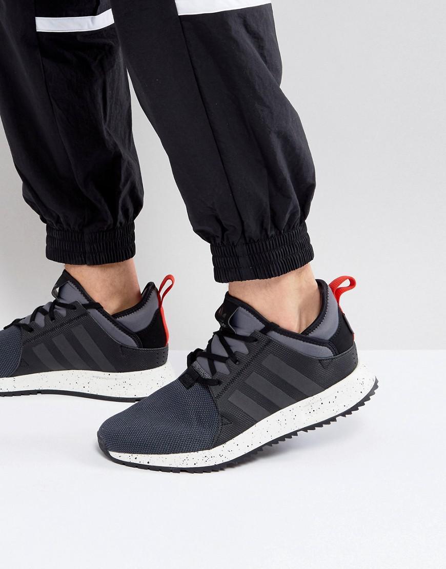 adidas originali x a infrarossi boot formatori in nero bz0669 in nero